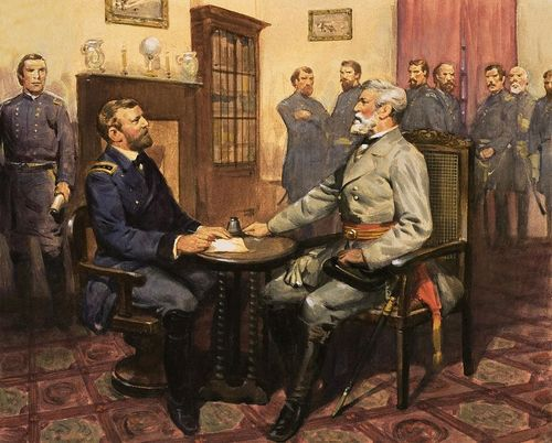 General-grant-meets-robert-e-lee-english-school