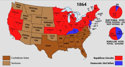 1864_Electoral_Map