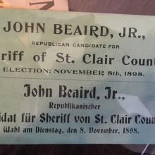 Beaird ad card