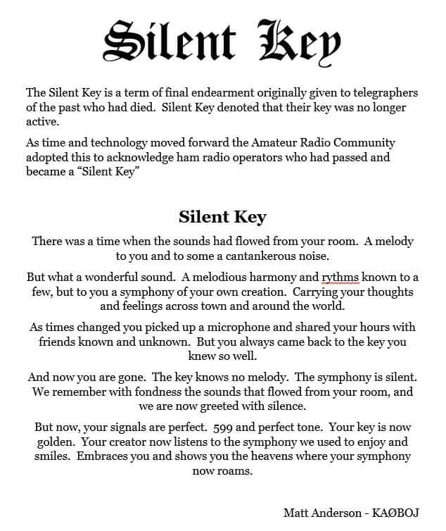 Silient key